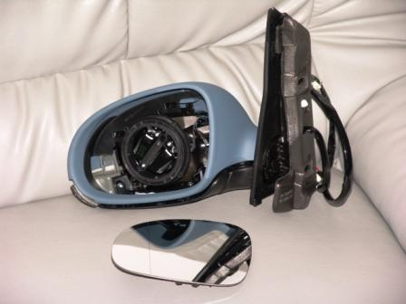 au enspiegel links vw golf plus elektrisch beheizbar ebay. Black Bedroom Furniture Sets. Home Design Ideas